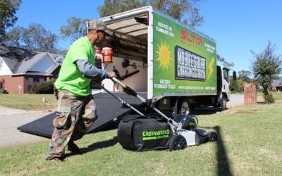 Disrupting Lawn Maintenance