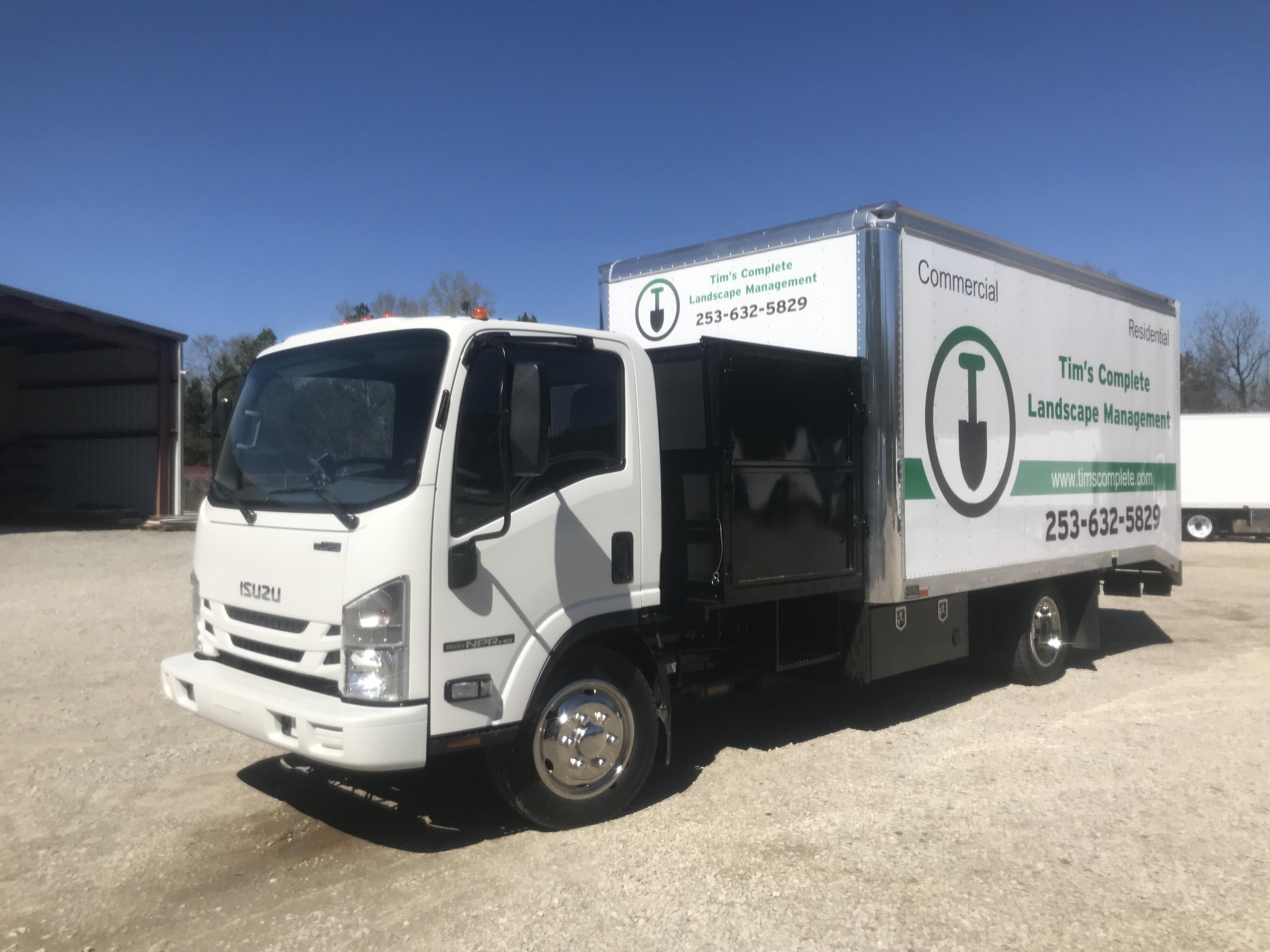 Press Release Local Washington Landscape Company Adopts Green Energy Solar Lawn Truck