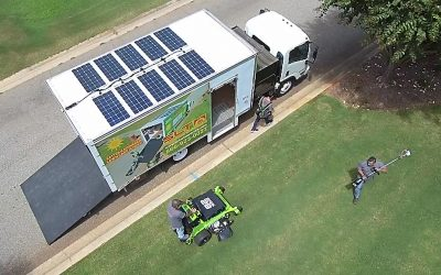 PRESS RELEASE: Solar Lawn Truck Awarded for Innovation