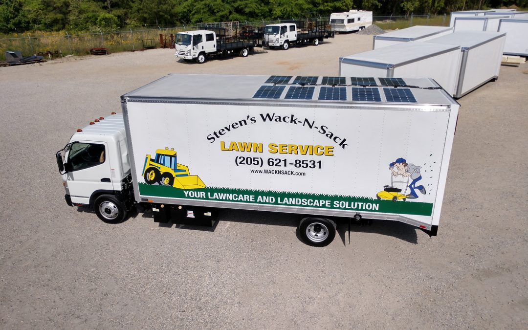 Steven Gladstone's What's Working with his Solar Lawn Truck Case Study